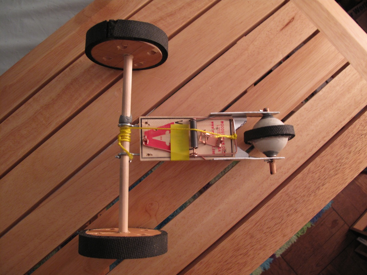 mouse trap car report description of Mouse trap car materials list balsa wood – the design of your car will dictate how much and what size balsa wood you will need i recommend going to a hobby shop such as hub hobby to see the different sizes and.